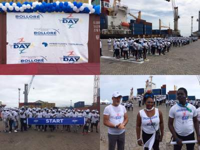 Marathon Day: the Solidarity Run of Bollore Group