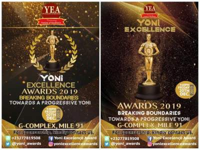 Yoni Excellence Awards Board Unveils Date and Place for its Maiden 2019 Yoni Excellence Awards Ceremony