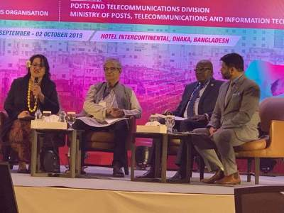 Sidie Tunis Speaks at Commonwealth ICT and Telecommunications Forum 2019