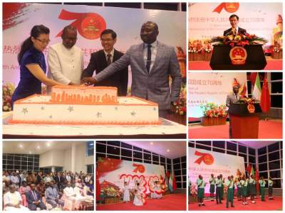Chinese Embassy hosts Reception in Celebration of the 70th Anniversary of the Founding of the People's Republic of China
