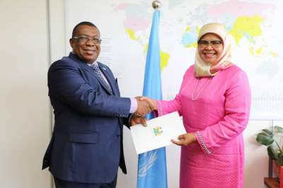 Sierra Leone High Commissioner to Kenya Presents Letter of Credence to UN-Habitat & UNON